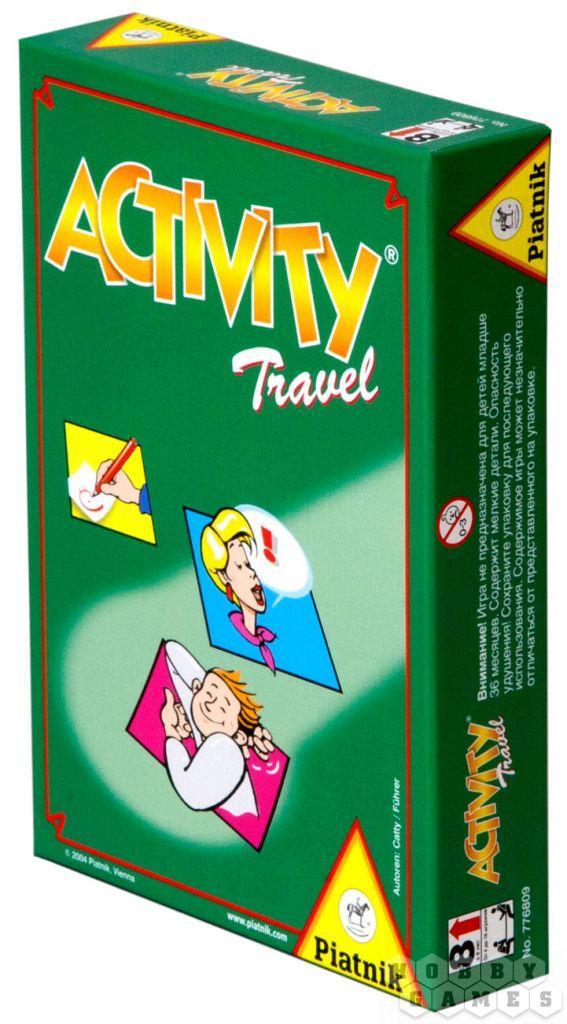 Настольная игра: Activity Travel (для путешествующих) для всей семьи, компактная версия, арт. 793295