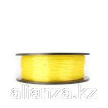 Пластик PLA прозрачно-желтый
