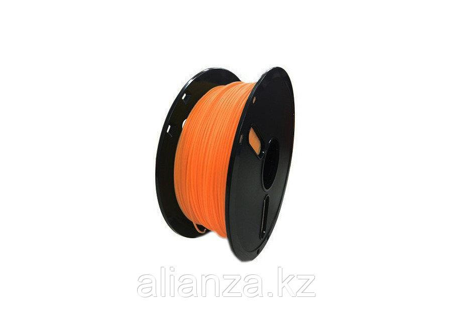 Катушка PLA-пластика Raise3D Premium 1.75 мм 1 кг., полупрозрачная оранжевая