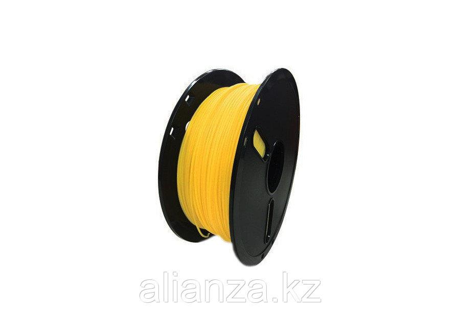 Катушка PLA-пластика Raise3D Premium 1.75 мм 1 кг., полупрозрачная желтая