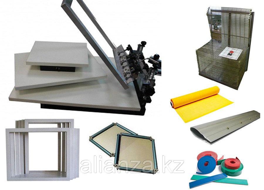 Комплект для трафаретной печати на базе станка Универсал плюс SP-1C1SM