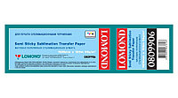 Сублимационная бумага Lomond, матовая, односторонняя, полулипкая, рулон 1600мм x100м x50.8мм (809906)