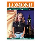 Термотрансферная бумага Lomond A4 Ink Jet Luminous Transfer Paper, 140 г/м2, 10 листов (0808431)