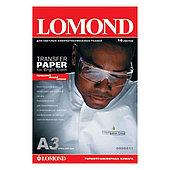 Термотрансферная бумага Lomond A4 Ink Jet Transfer Paper for Bright Cloth ECONOM, 50 листов (0808445)