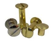 Болты металлические высота ножки 15 мм, серебро, 100 шт.