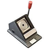 Вырубщик для значков Vektor Stand Cutter Square Shape 37х37 мм, настольный