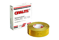 Светоотражающая лента Oralite/Reflexite VC104 Rigid Grade Commercial для жесткого борта, желтая 0.05x50 м