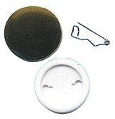 Заготовки для значков d37 мм, пластик/булавка, 200 шт