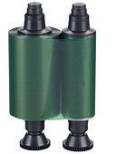 Зеленая монохромная лента Evolis R2214