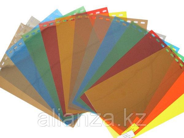 Обложки пластиковые, Прозрачные без текстуры, A3, 0.20 мм, Желтый, 100 шт
