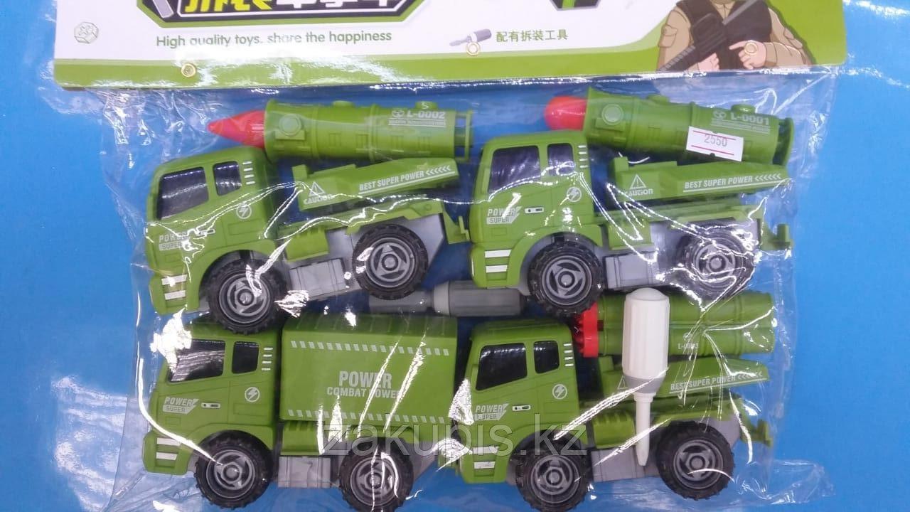Игровой набор «Военные машины»