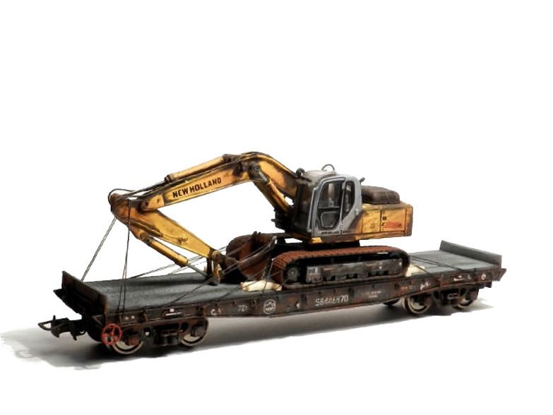Разработка схем размещения и крепления грузов на транспотерах