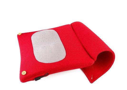 Массажная роликовая подушка  YT-1706, фото 2