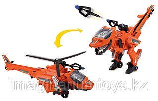 VTech игрушка динозавр трансформер Велоцираптор