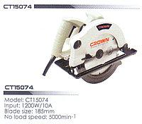 Циркулярная пила CT15074 CROWN