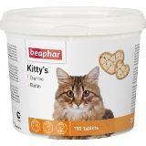BEAPHAR Kitty's + Taurin + Biotin Витаминизированное лакомство для кошек, с таурином и биотином 750 тб, фото 1