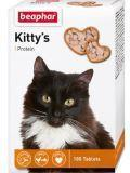 BEAPHAR Kitty's + Protein 180таб Витаминизированное лакомство для кошек, с протеином