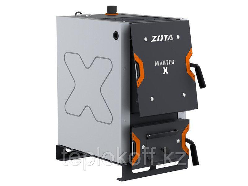 Котел твердотопливный Zota Master X 25 кВт с плитой