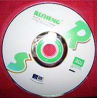 Диск для записи DVD+R 4,7Gb 8X 120min  RISHENG