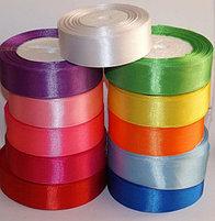 Ленты атласные одноцветные