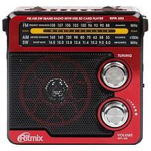 RITMIX RPR-202r Радиоприемник портативный red