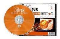 DVD-диск Mirex DVD+R 4.7Gb 16x 120 min Slim Case