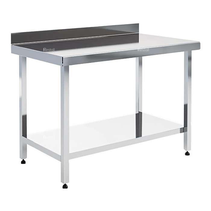 Стол производственный EKSI СРПН Ш (L=1500 S=700 H=850 Нб=85 СП)