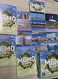 Настольная карточная игра  Мемо Казахстан на 3х языках, фото 3
