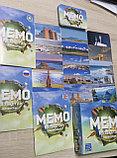 Настольная карточная игра  Мемо Казахстан на 3х языках, фото 4
