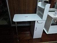 Маникюрный стол с встроенным вентилятором, встроенной вытяжкой