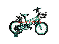 Велосипед Phillips бирюзовый оригинал детский с холостым ходом 16 размер