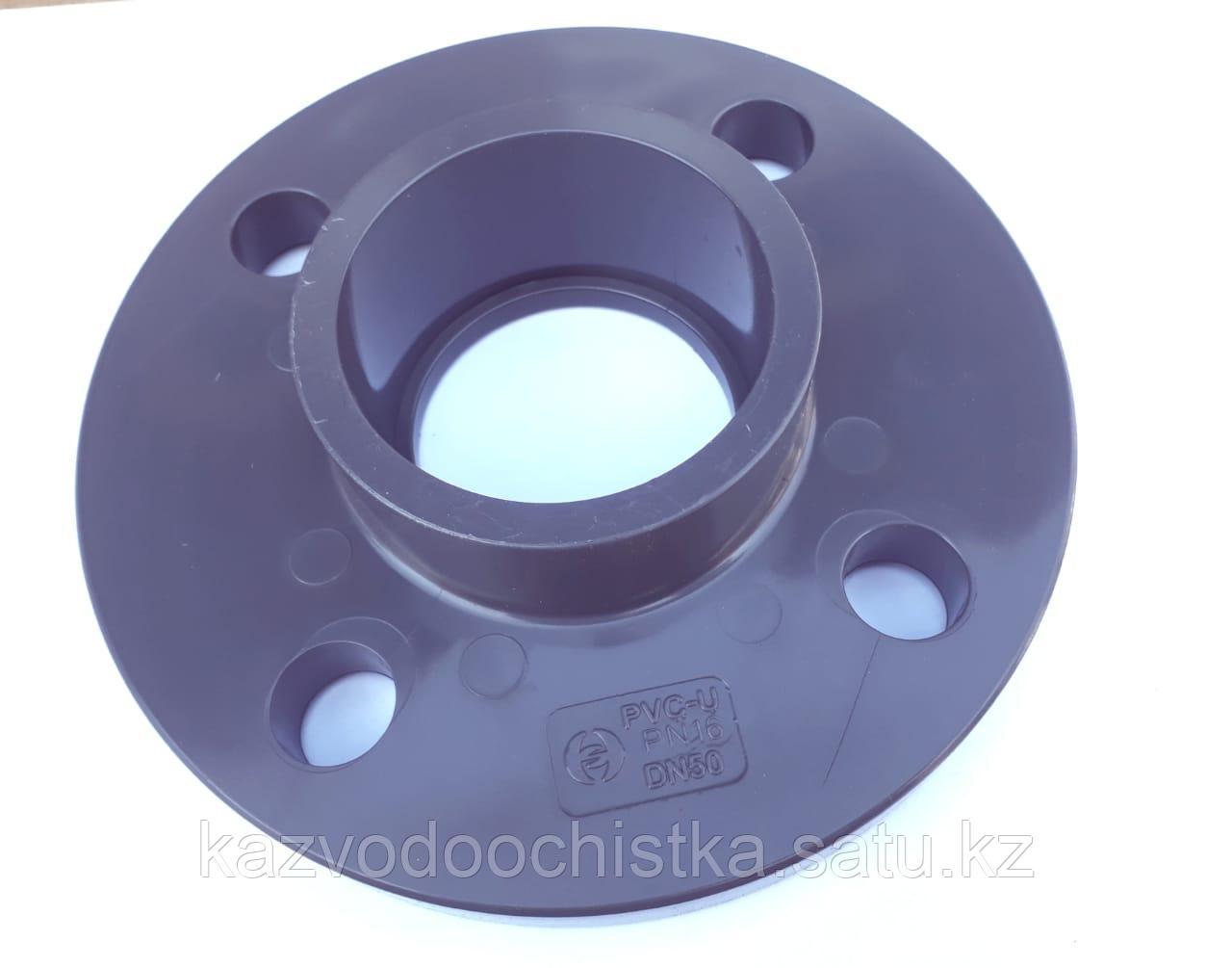 ПВХ Фланец (one piece flange PVC) 75 мм.