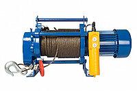 Лебедка тяговая электрическая КCD-300-A 300 кг, с канатом 30м, 380В