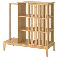 Гардероб открытый/раздвижная дверь НОРДКИЗА 120x123 см ИКЕА, IKEA, фото 1