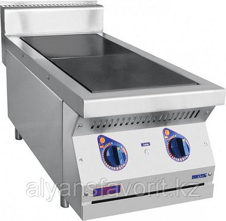 Плита электрическая ABAT ЭПК-27Н двухконфорочная без жарочного шкафа (полностью нерж, серия 700), фото 2