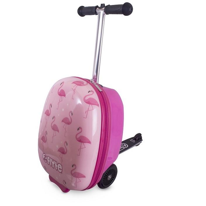 Самокат-чемодан Фламинго Zinc-Flyte