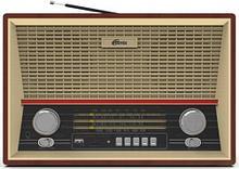 RITMIX RPR-102 Радиоприемник портативный коричневый