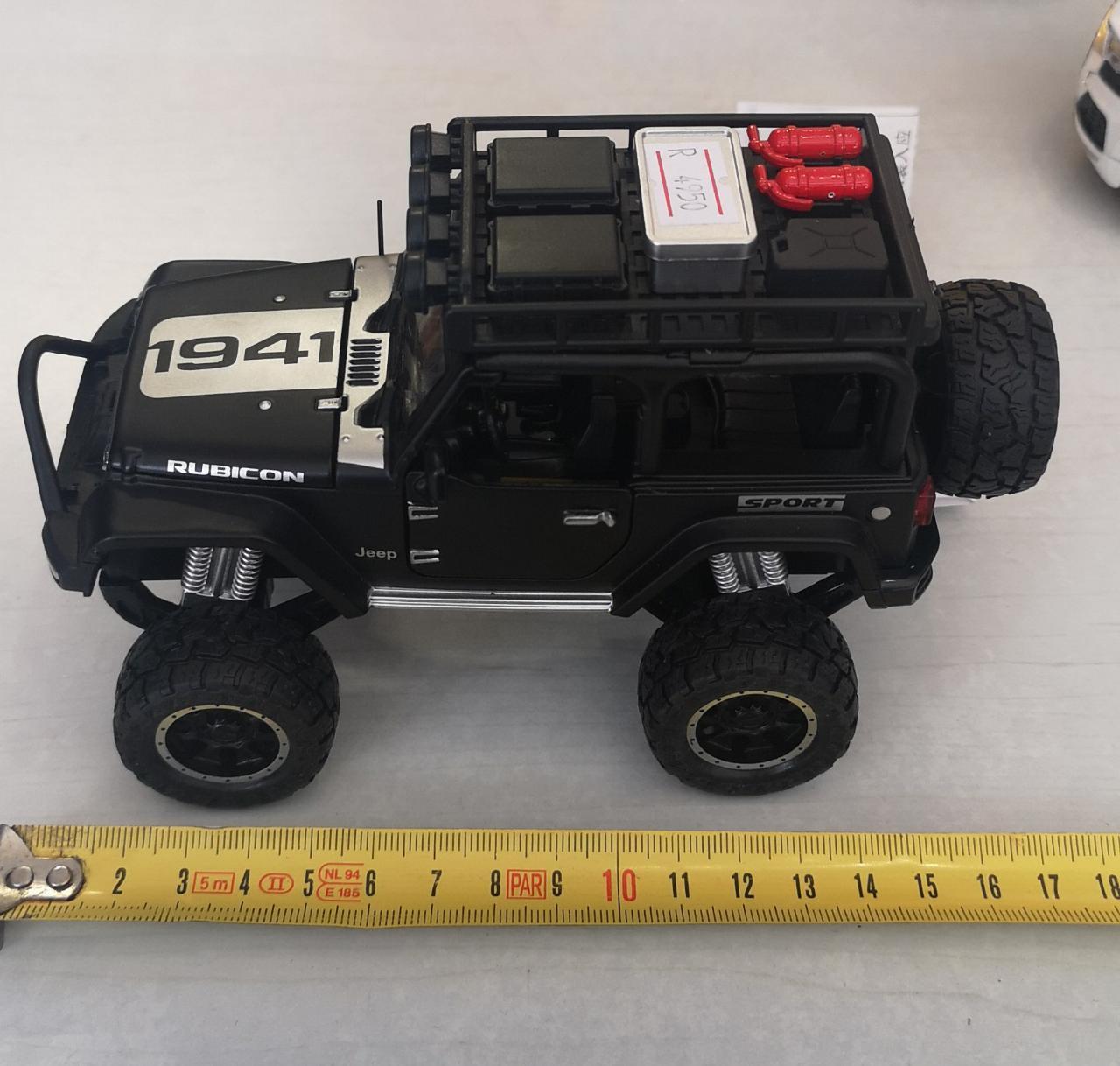 Металлическая модель автомобиля Jeep - фото 2