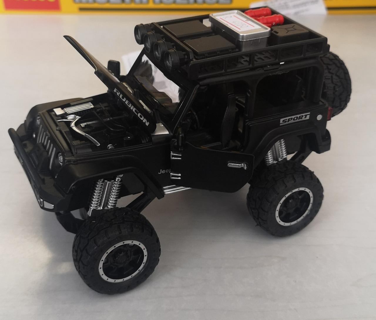 Металлическая модель автомобиля Jeep - фото 4