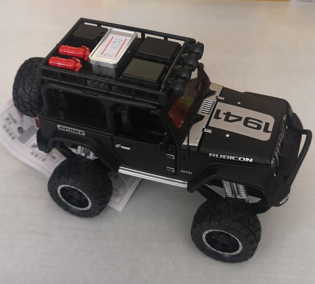 Металлическая модель автомобиля Jeep - фото 5