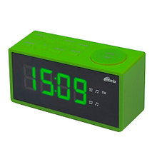 RITMIX RRC-1212 Радиочасы цвет зеленый