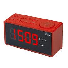 RITMIX RRC-1212 Радиочасы цвет красный