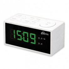 RITMIX RRC-1212 Радиочасы цвет белый