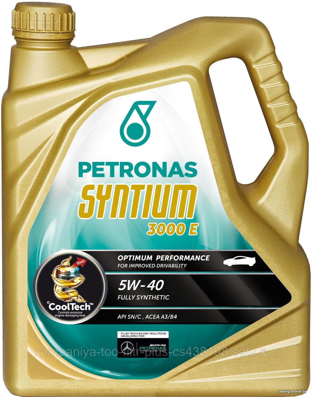 PETRONAS SYNTIUM 3000 E 5W-40 5л