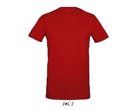Футболка мужская с эластаном Millenium Men, Красная