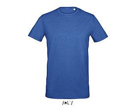 Футболка мужская с эластаном Millenium Men, Синяя