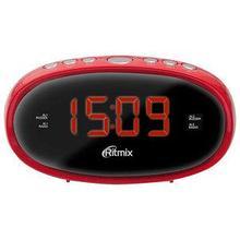 RITMIX RRC-616 Радиочасы цвет красный