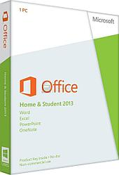 ПО Microsoft Office Home and Student 2013 Box (Rus)