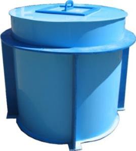 Полипропиленовый бак для воды 1 м3, фото 2