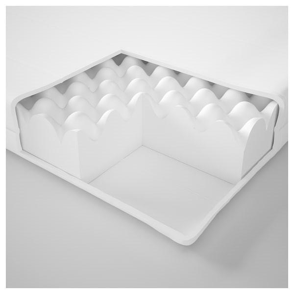 Кушетка каркас с 3 ящ. ХЕМНЭС Мосхульт жесткий, 80x200 см ИКЕА, IKEA - фото 7